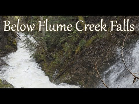 Below Flume Creek Falls