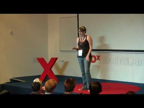 Giving it a go: Danielle Andrews at TEDxYouth@Darwin 2013