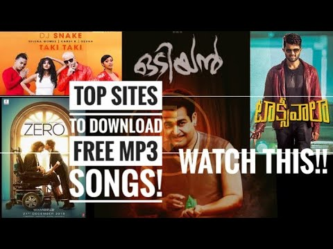 Top Sites To Download Mp3 Songs For Free! | Must Watch | SS CreationZ