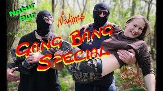 Nadines Gang Bang Special - Hinter den Kulissen vom ersten GB-Dreh!