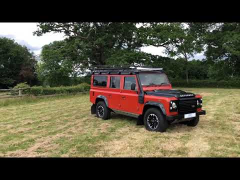 2016 Land Rover Defender 110 Adventure Station Wagon