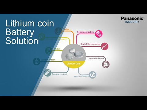 Panasonic Lithium Coin Battery Solution Video For Professionals