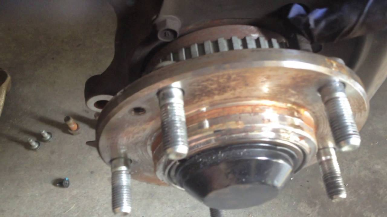 Kia Sorento: Rear Hub - Carrier Removal