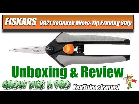FISKARS Softouch Micro Tip Pruning Snip Review