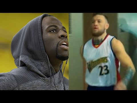 best service d08d0 d1044 Draymond Green PISSED at Conor McGregor for Using His Jersey ...