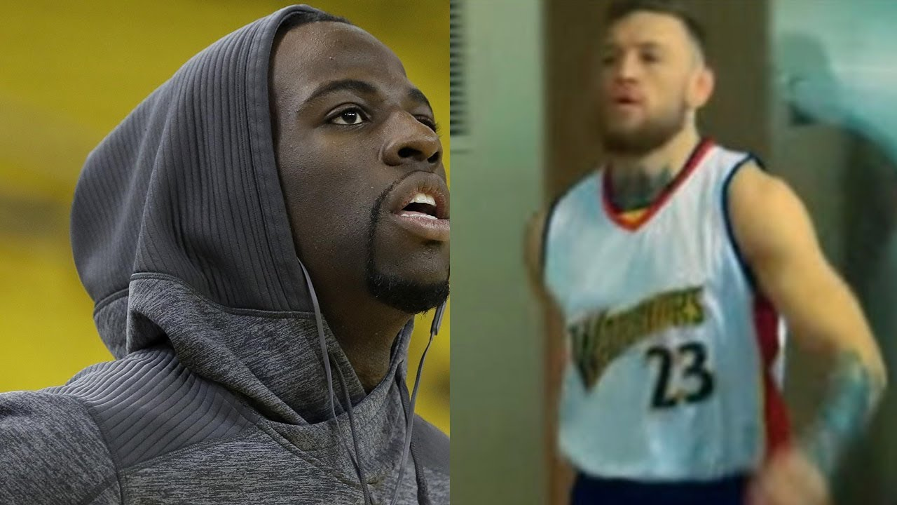 buy online 0ef0d 3cbbf Draymond Green PISSED at Conor McGregor for Using His Jersey Number to  Troll Floyd Mayweather