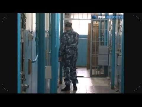 Колония особого режима ИК 1, Республикa Мордовия .  Воры в законе видео.