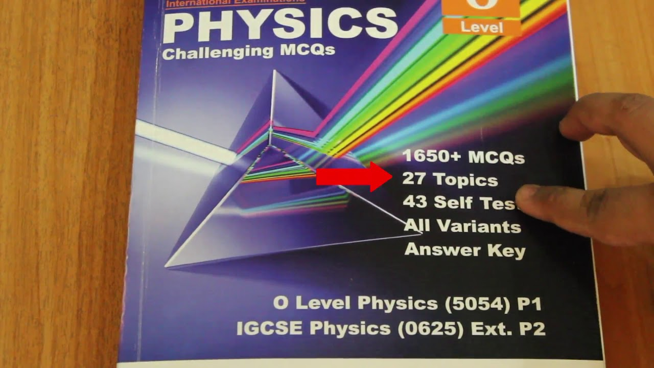 Book Review of Physics Challenging MCQs for O Level and