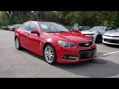 2017 Chevrolet Ss New Smyrna Beach Port Orange Edgewater Daytona Deland Fl P15474