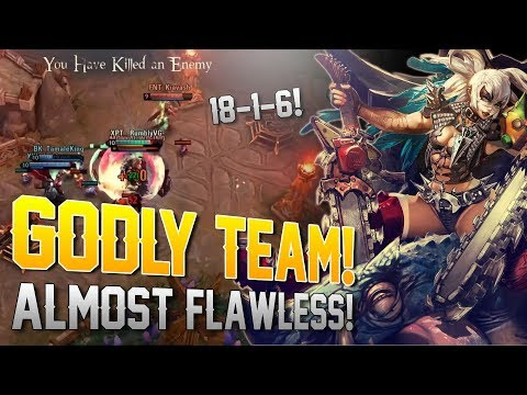 ALMOST FLAWLESS MATCH!! Vainglory 5v5 Ranked - Rona |Wp| Top Lane Gameplay