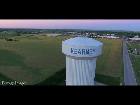 Drone Footage of Beautiful Kearney Nebraska, Johnson Lake