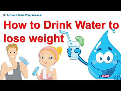 Drinking Water To Lose Weight, The Water Diet !!!