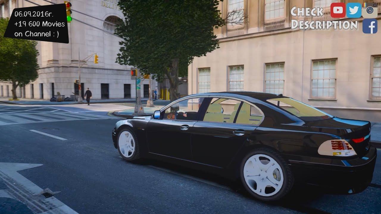 2002 BMW 760i - GTA IV ENB - 2.7K / 1440p ! - YouTube