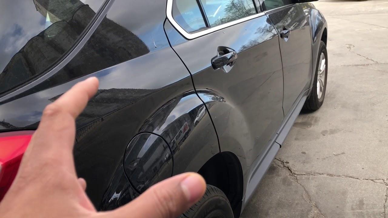 Cevrolet Equinox How To Open Fuel Door Gas Cap