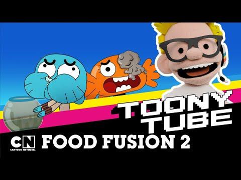 Toony Tube | Food Fusion 2 | Cartoon Network UK