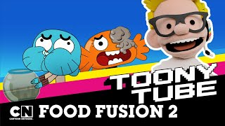 Toony Tube | Food Fusion 2 | Cartoon Network UK