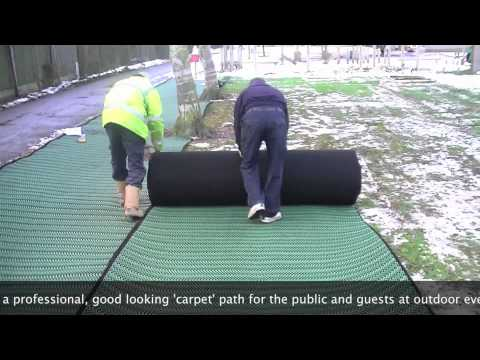 Grass Carpet | Sale and Hire | Installation Example