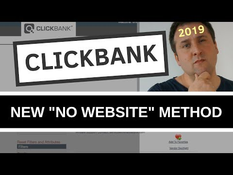 New Clickbank Beginners Guide For 2019 | No Website Needed
