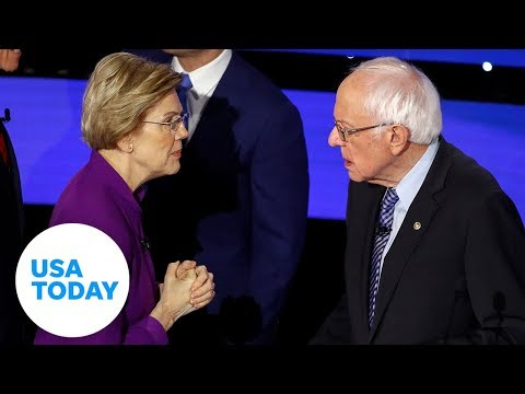 Can a woman win the presidency? Bernie Sanders answers on the debate stage | USA TODAY