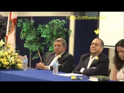 "TV Radio Miami - Americas Community Center rindio homenaje a Gabriel ""Gabo"" Garcia Marquez"