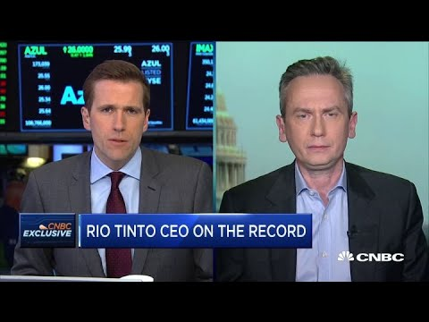 Rio Tinto CEO explains why the company is investing in sustainable mining practices