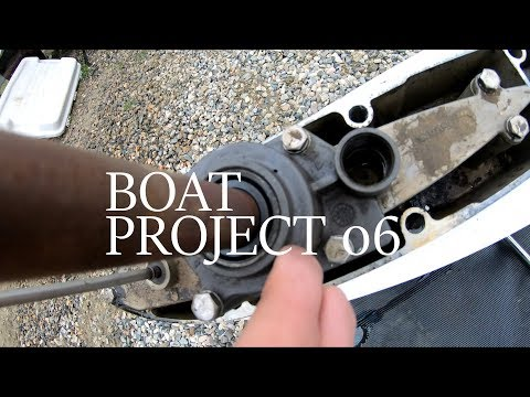 Boat Project 06 – How to Replace IMPELLER on Chrysler Force Outboard 85