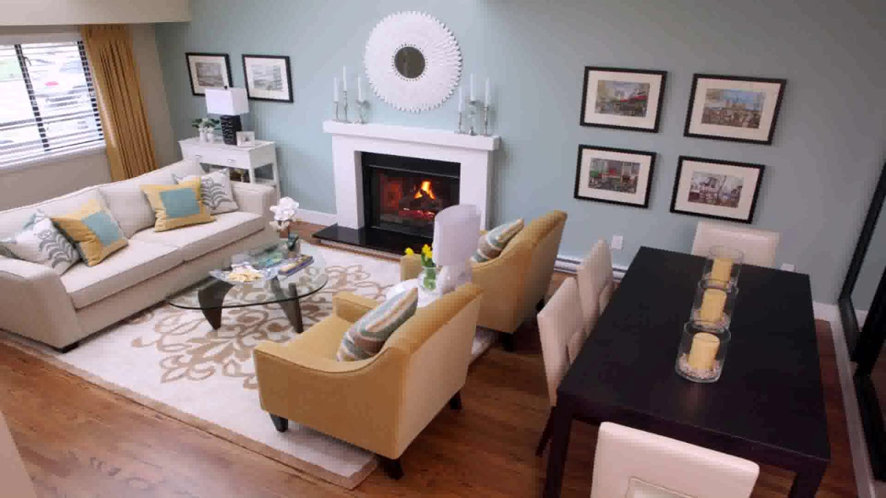 Interior Design Ideas Rectangular Living Room Youtube