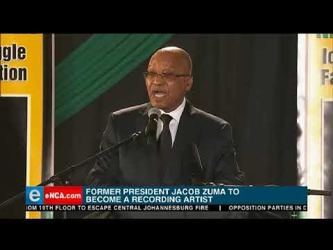 Jacob Zuma to become a recording artist