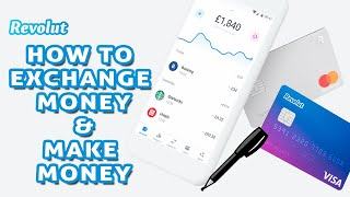 How to exchange money with Revolut app and make money - Forex