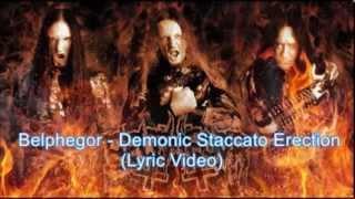 Belphegor - Demonic Staccato Erection (lyric video)