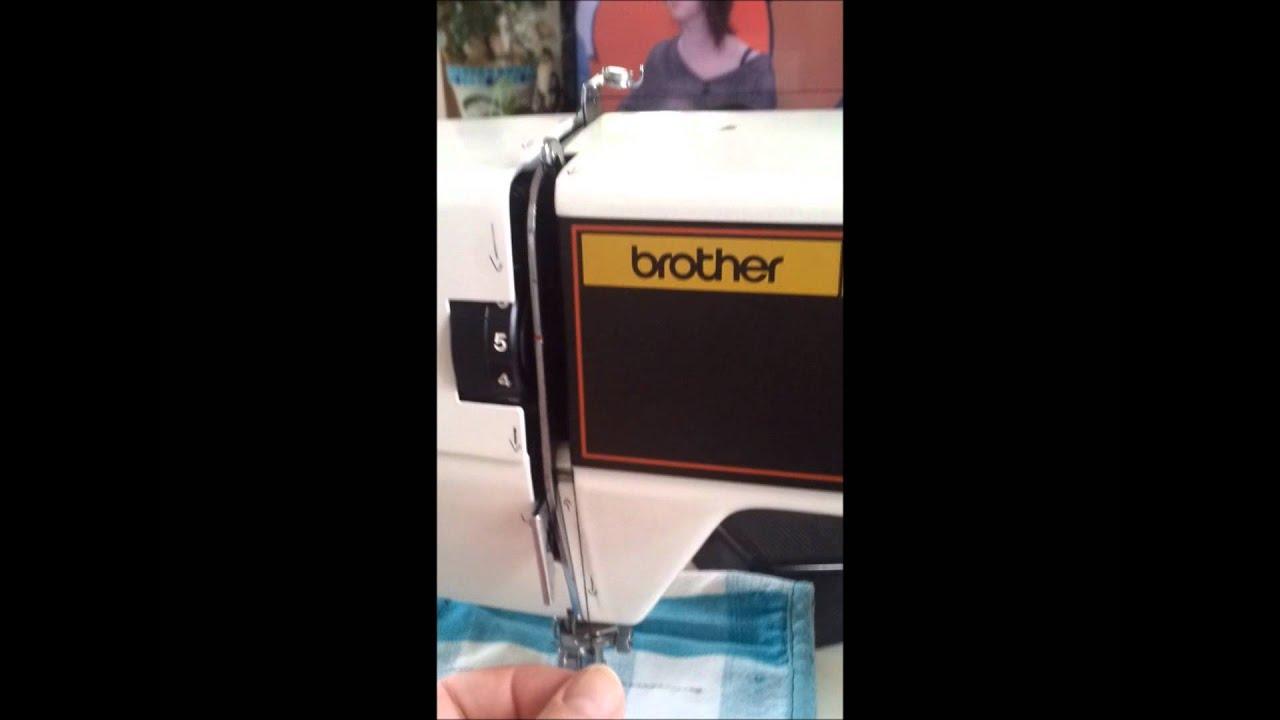 Comment monter le fil sur une veille machine coudre for Machine a coudre 4 fils