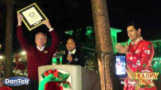 GUINNESS WORLD RECORDS® Title for Most Couples Kissing Under the Mistletoe ...