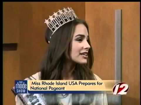 (Miss Universe 2012) Miss USA 2012 as Miss RI Olivia Culpo prepares for national pageant