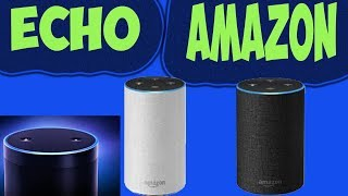 Echo Amazon Alexa Déballage Présentation Test En Français Configuration Enceinte Connecté !!!