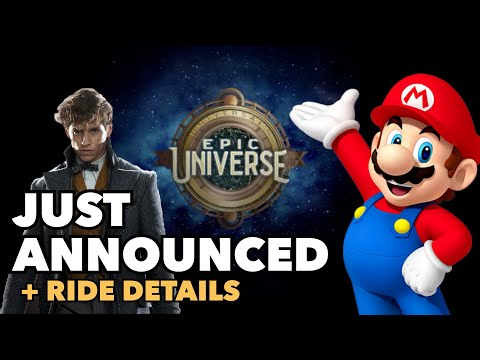 **BREAKING NEWS** New Universal Theme Park + Ride Details