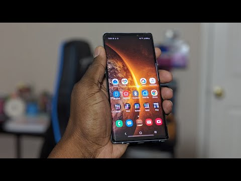 Galaxy Note 9   24 Hour UPDATE! Samsung One Ui with Android 9.0 Pie
