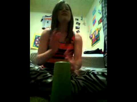 Hannah Hatcher-Cup Song-(Pitch Perfect)