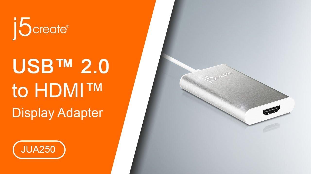j5create® USB™ 2 0 HDMI™ Display Adapter JUA250