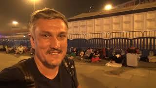 Ночь с бомжами возле ЖД вокзала в Гуанчжоу и сидячий поезд на Хайнань