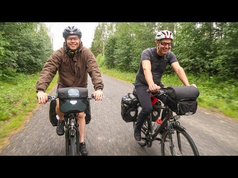 Northern Sweden by Bicycle - FULL MOVIE by Bicycle Touring Pro