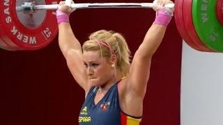 2013 World Weightlifting Championships, Women 75 kg \ Тяжелая Атлетика. Чемпионат Мира