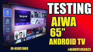 Aiwa 4K Ultra HD ANDROID (Version 9.0) Android TV