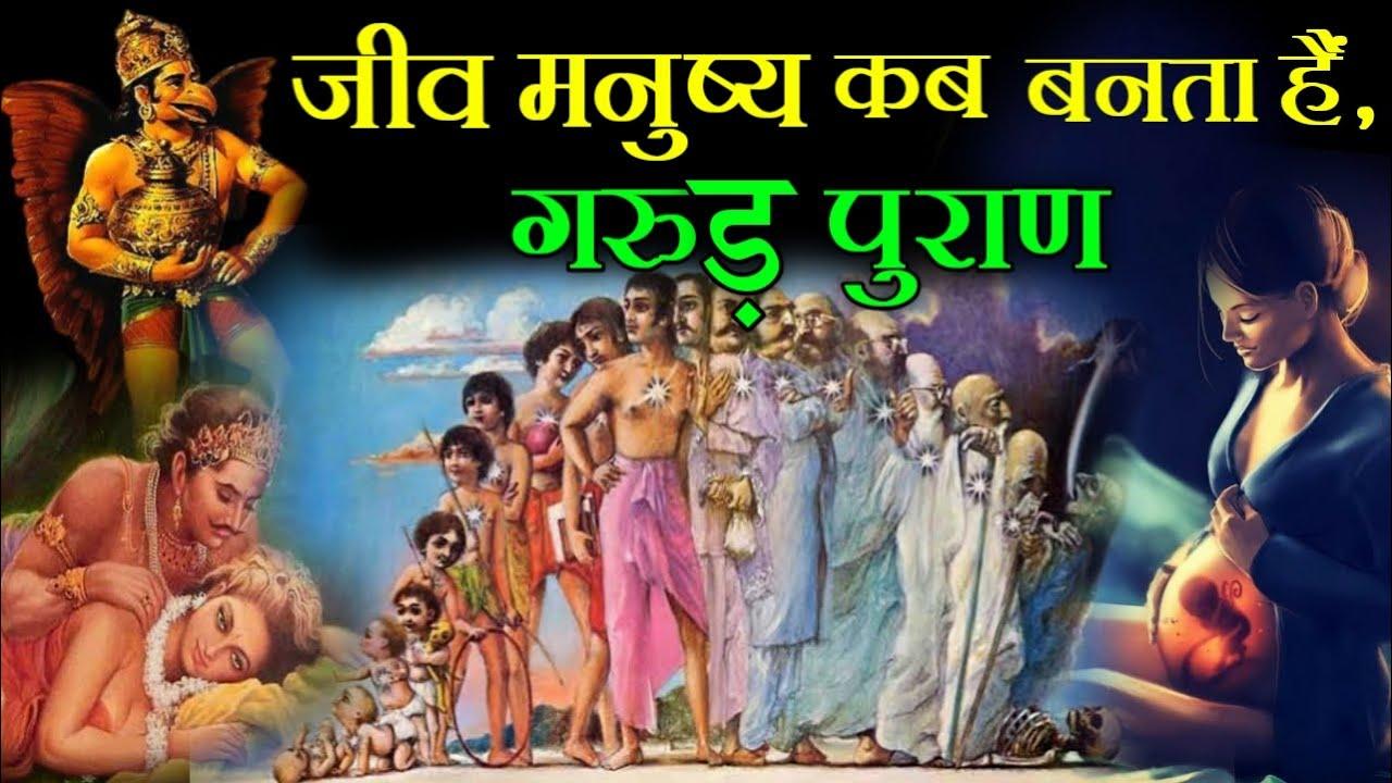 गरुड़ पुराण...जीव को इंसान बनने का मौका कब मिलता है...!!Useful Jankari !!