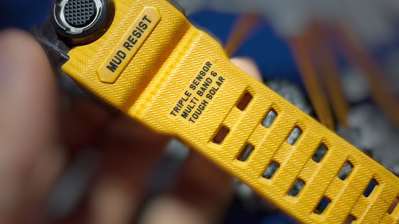 This Used Yellow G Shock Watch