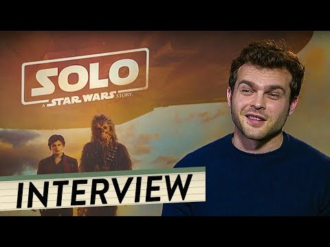 SOLO: A STAR WARS STORY   Alden Ehrenreich talks about movie, his part and his origin