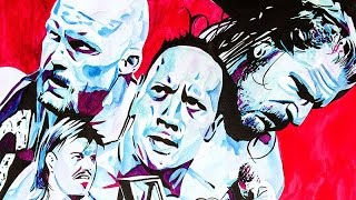 WrestleMania X-Seven hits the canvas — WWE Canvas 2 Canvas