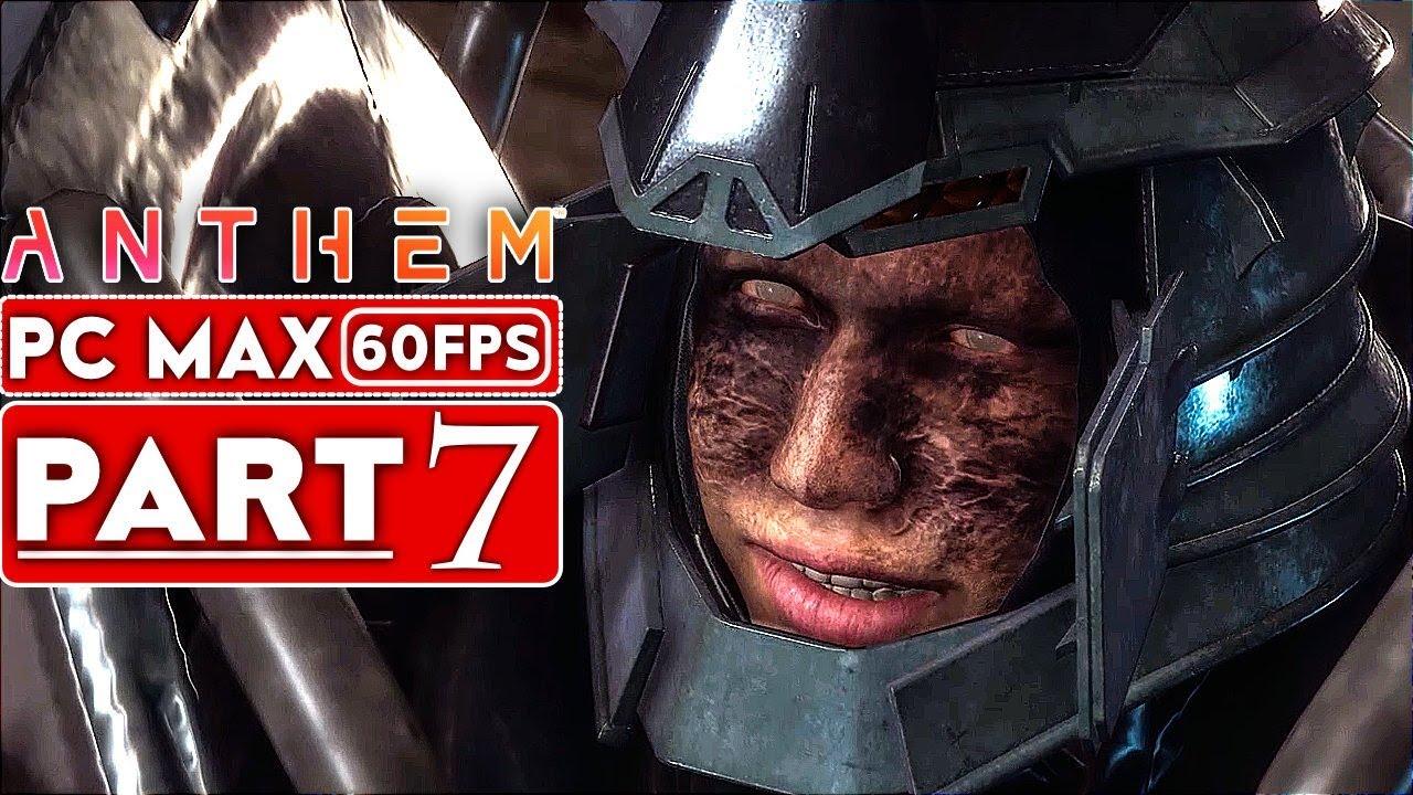 ANTHEM Gameplay Walkthrough Teil 7 Story-Kampagne [1080p HD 60FPS PC MAX EINSTELLUNGEN] - Kein Kommentar + video