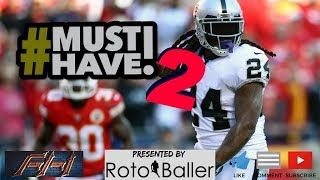 2018 Fantasy Football - Must Own Players for 2018 - Draft Day Targets Vol. 2