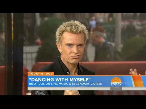 TODAY's Billy Idol Interview + White Wedding (Acoustic Live 2014)