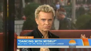 TODAY's Billy Idol Interview + White Wedding (Acoustic Live 2014) Video